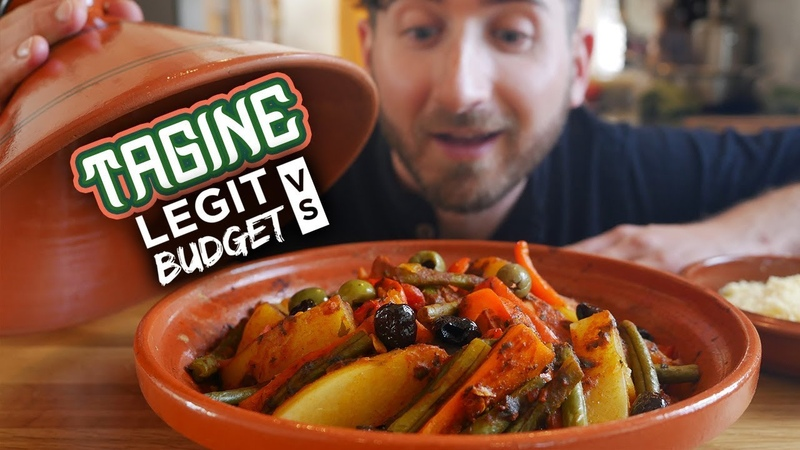 Making Morocco's most famous dish using a $7 flower pot Three Tagine Recipes