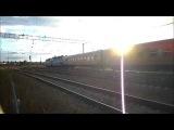 ЧС7-064 с поездом Москва-Рига