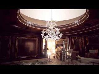 Монтаж стеновых панелей Boiserie Моденезе Гастоне i Saloni 2013.Классическая итальянская мебель.
