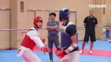 Korean National Taekwondo team Training for WT GrandPrix Taipei September Lee DaeHoon,Kim Taehun