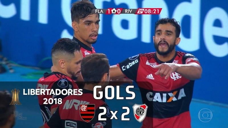 Flamengo 2 x 2 River Plate (ARG) - Libertadores 2018 - Globo HD⁶⁰