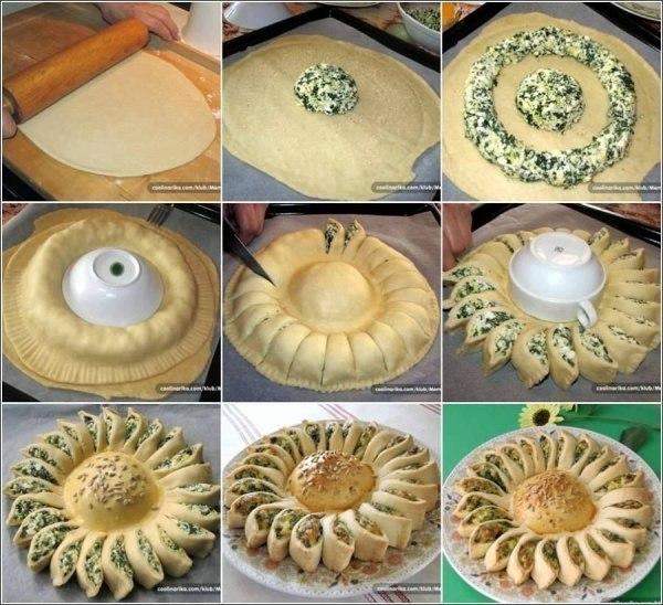 Пироги из дрожжевого теста рецепты простые в домашних условиях