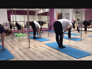 «ОФП + растяжка» тренер Виолетта