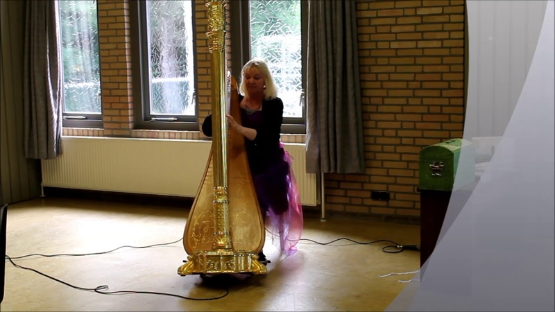 Regina Ederveen (арфа) - Sonata D minor (муз.: Johann Baptist Krumpholz (Jan Křtitel Krumpholtz))