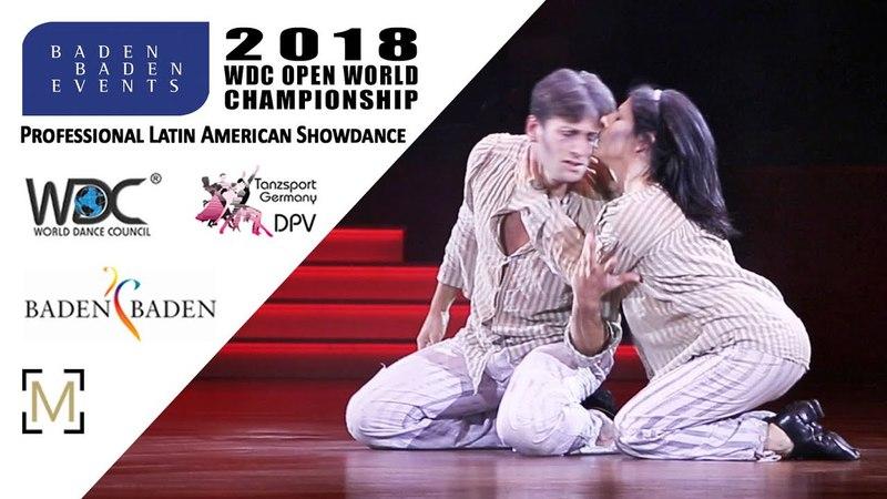 Fumagalli - Macaluso, ITA   2018 WDC Pro WCH SD LAT - Baden Baden, GER - Final