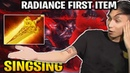 SingSing Bloodseeker Radiance First Item Rushing