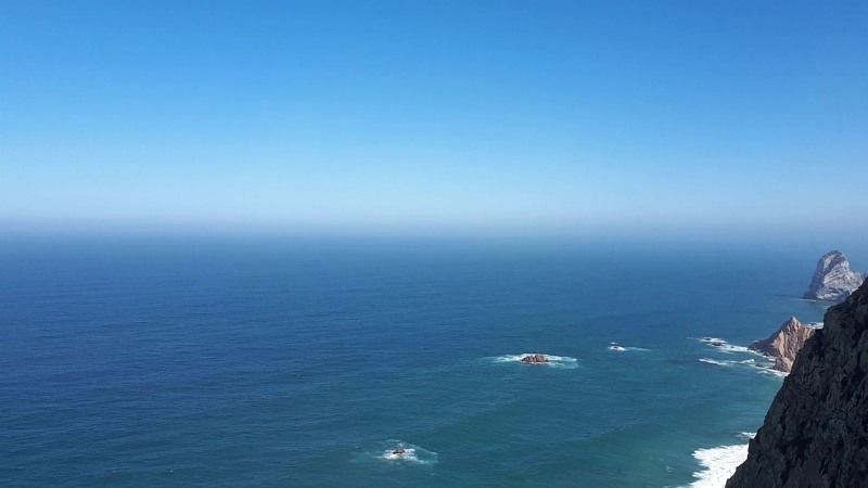 Мыс Рока. Безбрежный океан
