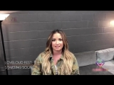 Demi Lovatos video message at the LOVELOUD Music Fest