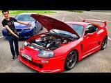 600 л.с. TOYOTA SUPRA vs 600 л.с. BMW M5 F90!) 2JZ + механика! Обзор и тест-драйв легенды. JDM. NFS.