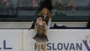 Nepela Trophy 2017 Medvedeva warm up and FS Медведева разминка и ПП