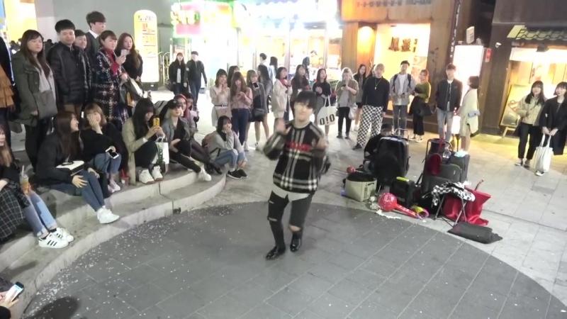 디오비 DOB 효진박진 - Heart Shaker (하트 셰이커) - 홍대버스킹 2018.03.14일.hnh.