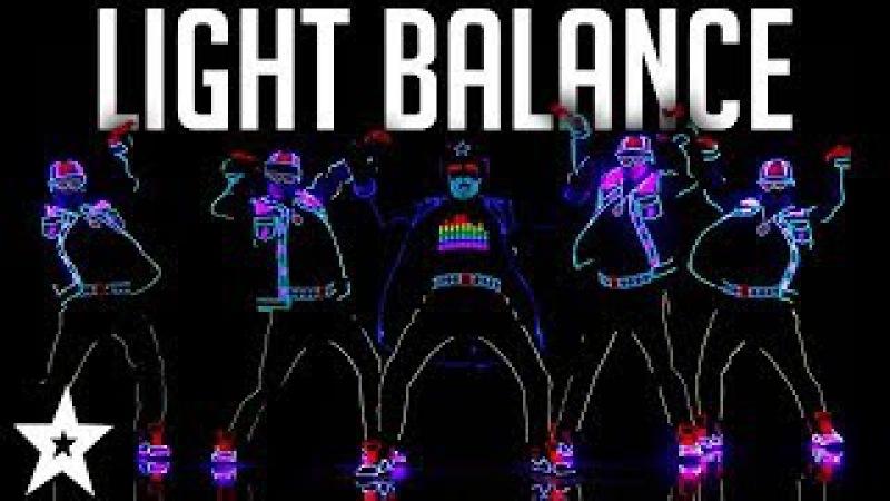 Light Balance FINALIST   ALL Performances   America's Got Talent 2017