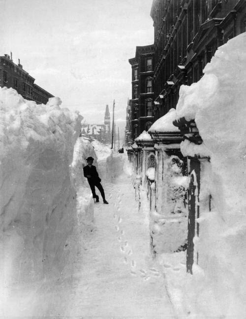 Нью-Йорк. США, 1888 год.