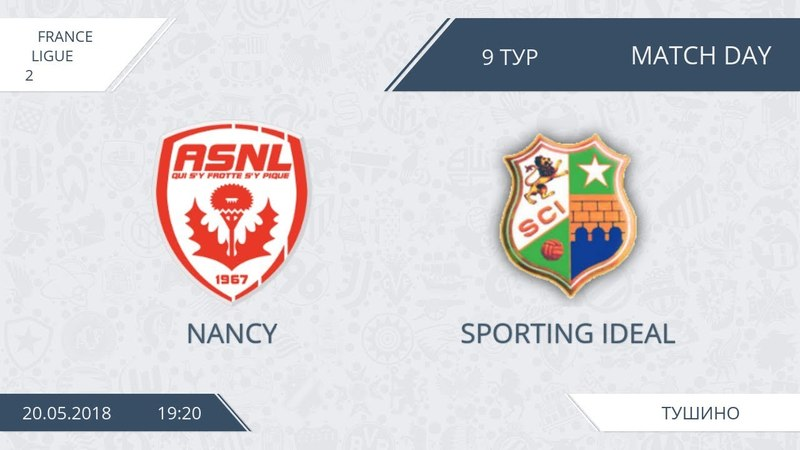 AFL18. France. Ligue 2. Group A. Day 9. Nancy - Sporting Ideal