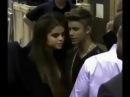 Justin Bieber kissing Selena Gomez at the Billboard Music Awards 2013