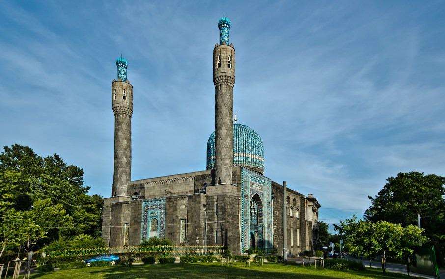 hkrPefpSprY Соборная мечеть Санкт-Петербурга.