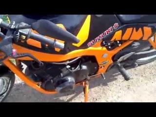 Падение на Мотоцикле Suzuki GS500