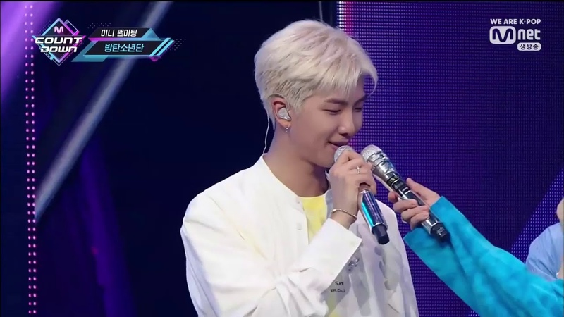 BTS (방탄소년단) COMEBACK 'Boy With Luv' MINI FANMEETING @M COUNTDOWN SPECIAL STAGE