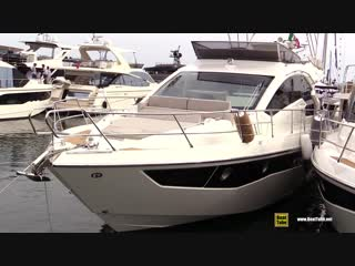 2019 Cranchi 60 Fly Luxury Yacht - Deck and Interior Walkaround - 2018 Cannes Yachting Festival