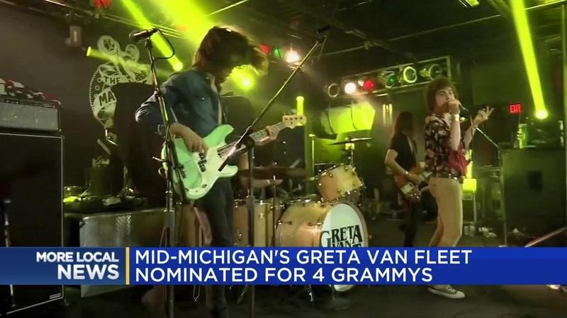 Mid-Michigans Greta Van Fleet nominated for 4 Grammys
