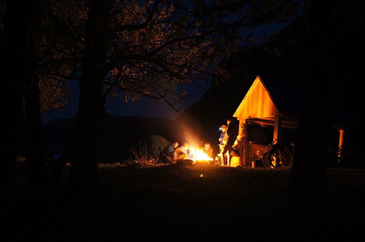 Ночевка на Кату-ярык