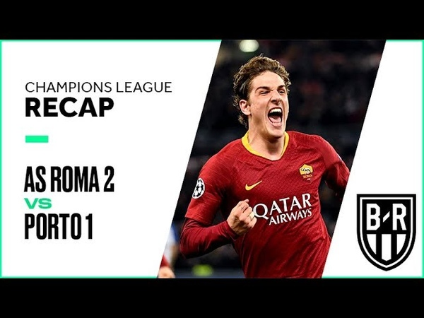 Champions League Recap AS Roma 2-1 Porto Highlights, Goals and Best Moments