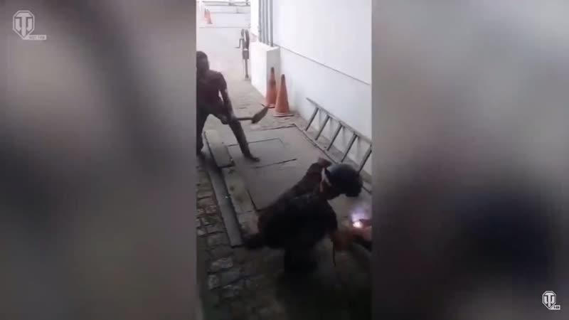 Сварщик и лопата