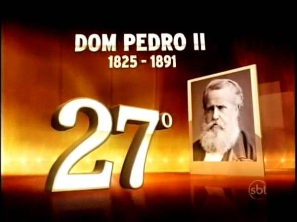 O Maior Brasileiro De Todos Os Tempos Programa 2 Os mais votados da 40º à 13º posição SBT