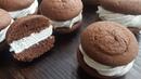 Шоколадный ЗЕФИРОСЕНДВИЧ🍩 chocolate sandwich with zephyr