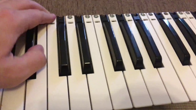 Axelvox key 49j Ремонт фиксатора клавиши