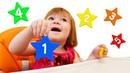 Бьянка и Звездочки Плей До - Учим цифры в Дада игрушки