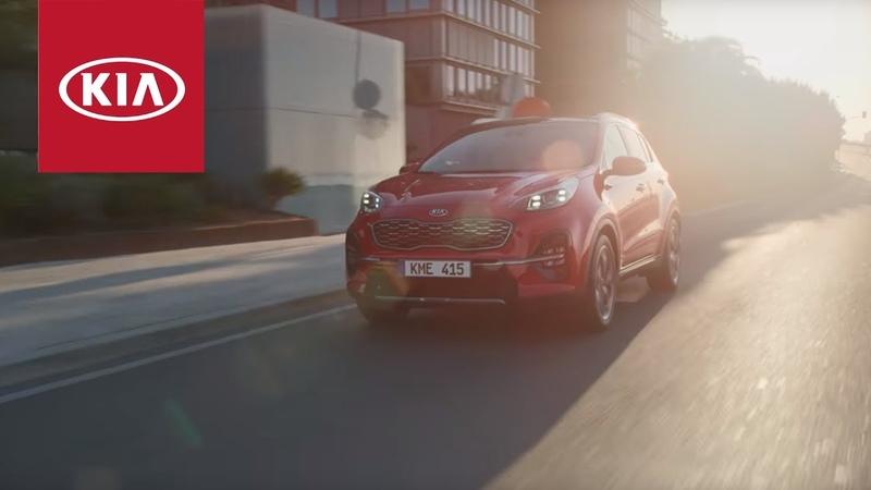 Новый Kia Sportage Видеопрезентация