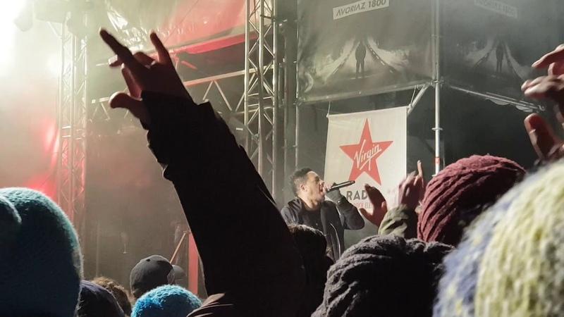 Joey Starr (Группа Supreme NTM) выступил на Avoriaz 2018 с треком Ma benz. (14 апреля 2018 г.)