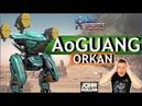 War Robots Ao Guang на Orkan MK2