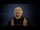 Generation being born now is the last to be free Assange