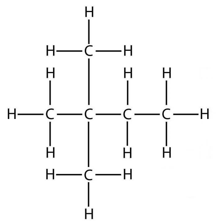 строение молекулы 2,2 они неогексана