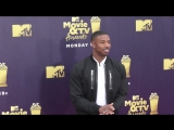 Michael B Jordan at the 2018 MTV Movie And TV Awards at Barker Hangar in Santa Monica