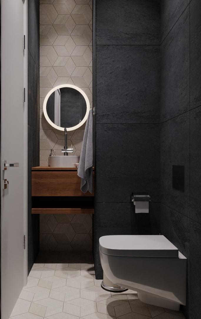 Проект квартиры в Москве, площадь 63 кв.