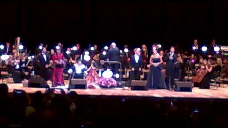 Мой неудачно снятый Кусочек финала концерта Монтсеррат Кабалье в Кремле 06 июня 2018