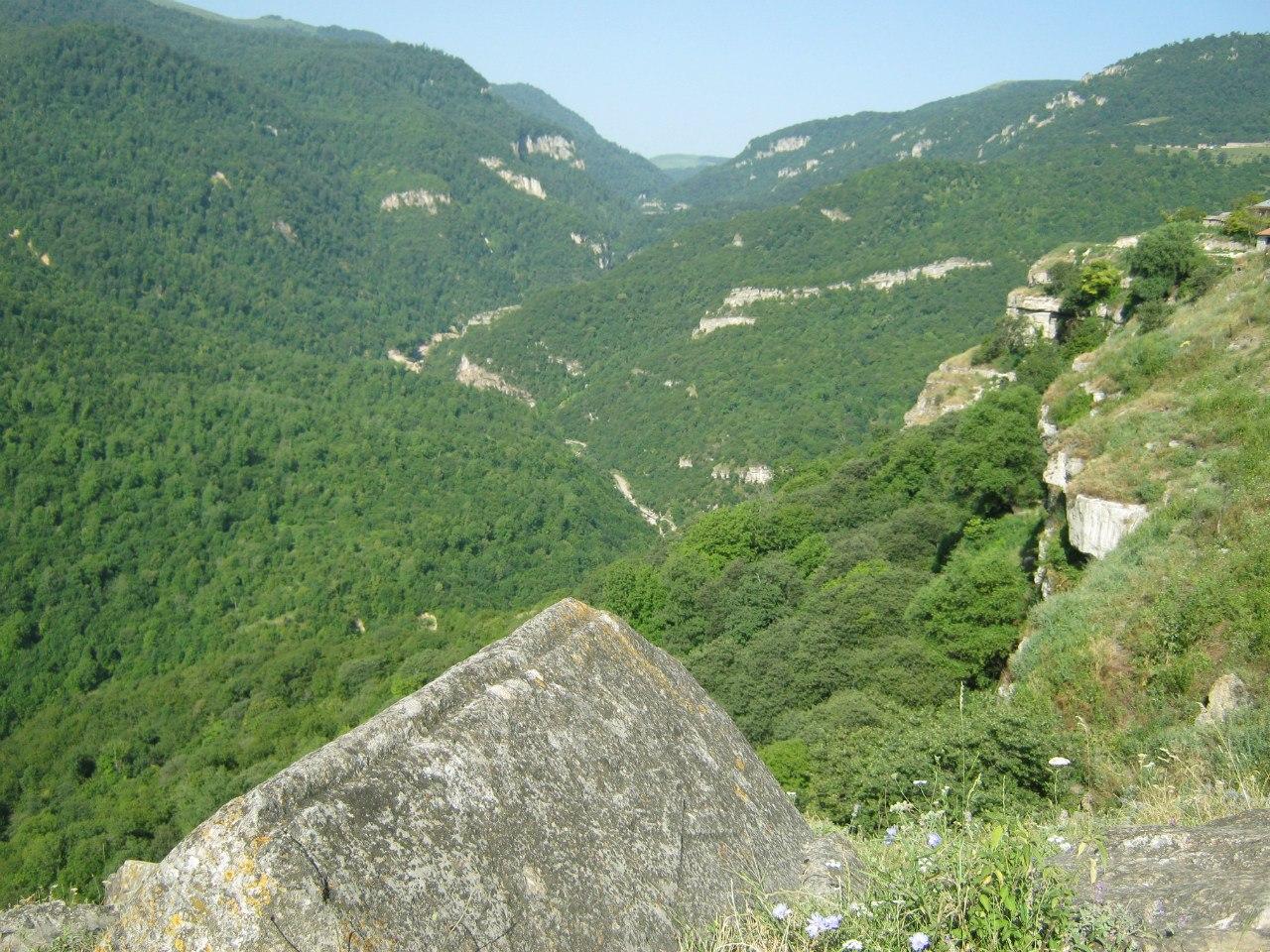 ущелье реки Сарнаджур