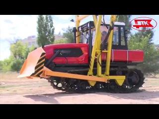 Трубоукладчик на тракторе  ДТ-75