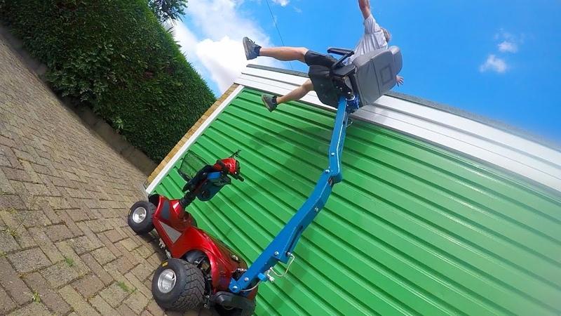 Hydraulic Crane Seat-Scooter Pimp 2