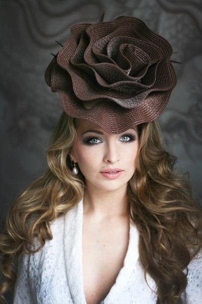 Роза на шляпу своими руками