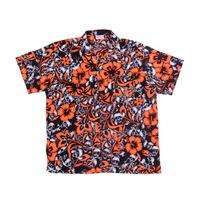 6dce989dc11 Синтетическая рубашка с коротким рукавом и красочным рисунком