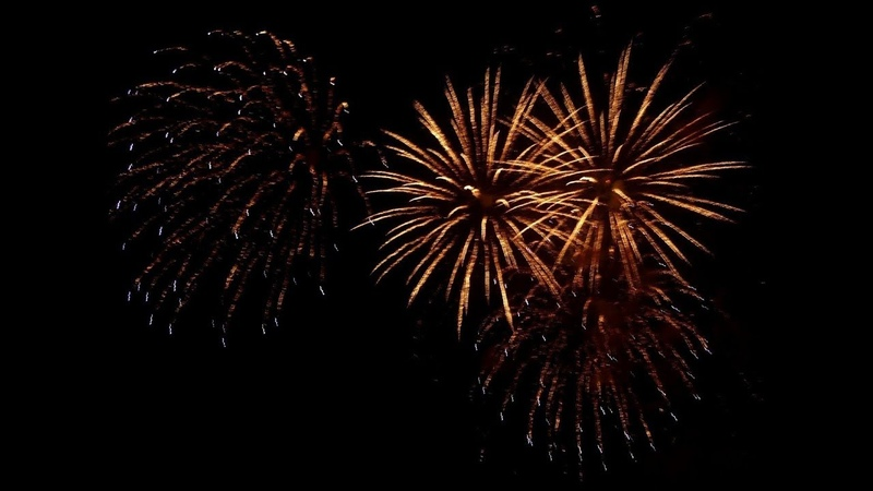 November 5th Fireworks Display Guy Fawkes Night Perth Perthshire Scotland