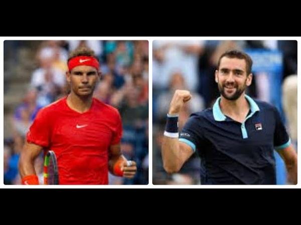 Rafael Nadal vs Marin Cilic HIGHLIGHTS CANADA 2018 QF
