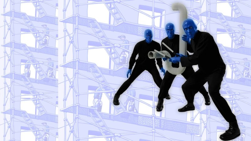 Up To The Roof (feat. Tracy Bonham) - Blue Man Group