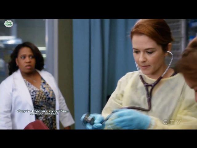 Grey's Anatomy 13x23 April Steph Bailey in ER Season 13 Episode 23