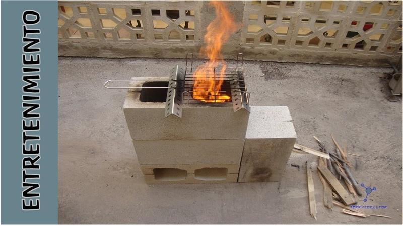Cocina rústica por 2 euros con 4 bloques