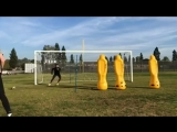 traning goalkeeper